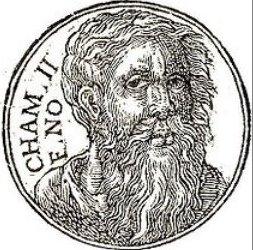 Who Was Old Seafarer Cham Khem Cronus Son Mizraim Menes Osiris Zeus