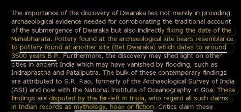 DwarakaDating1500BC