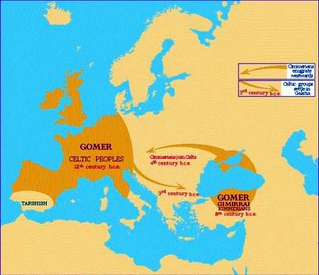 Gomerites-Cimmerians