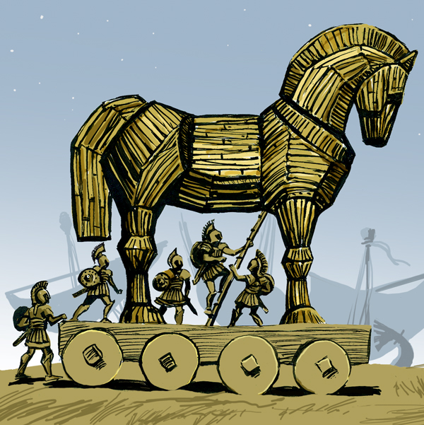 "Euhemerism Vindicated! ""Mythical"" Trojan Horse Found in ""Mythical"" Troy"