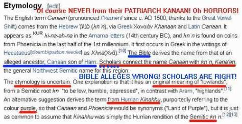 Canaan-wikipedia-lie