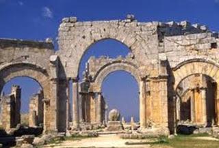 Monumental Gate Antioch Ruins