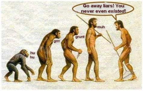evolution-liars