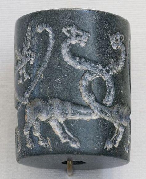 Cylinder_seal_lions_Louvre