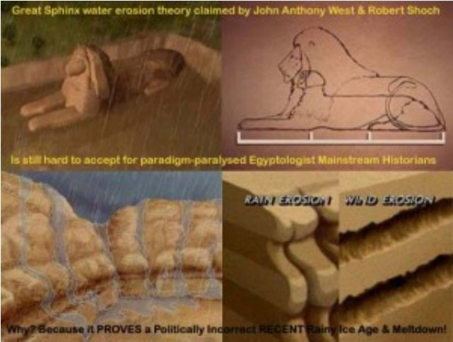The Egyptian Sphinx Erosion & Dating Mystery