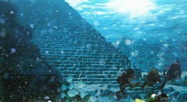 Huge Underwater Pyramid Discovered in Azores Near Portugal – Sunken Atlantis