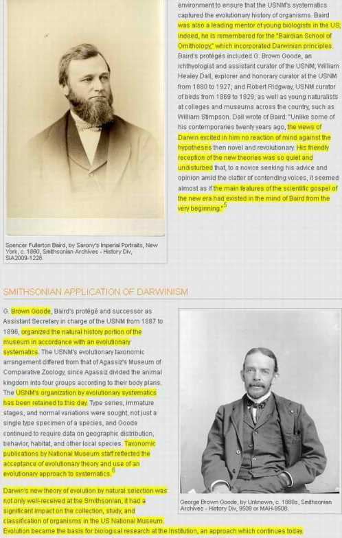 Smithsonian-Darwinists