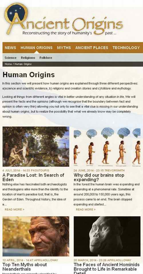 """Ancient Origins"" is anything BUT & so the funded info war goes on!"