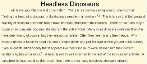 HeadlessDinos