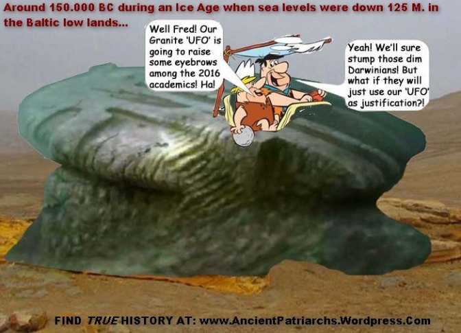 Submerged Baltic Rock a Bronze Age Megalith? Or Materialistic Darwinian 'Ancient UFO'?