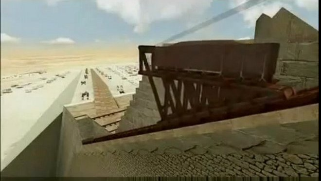 Two Opposing Theories How the Great Pyramid Was Built in Video – Lehner Hass vs Houdin!