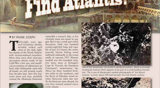 Another Soviet Cover-Up? Did the Russians Find Atlantis?