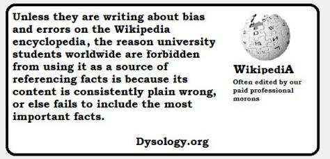 wikipedialies