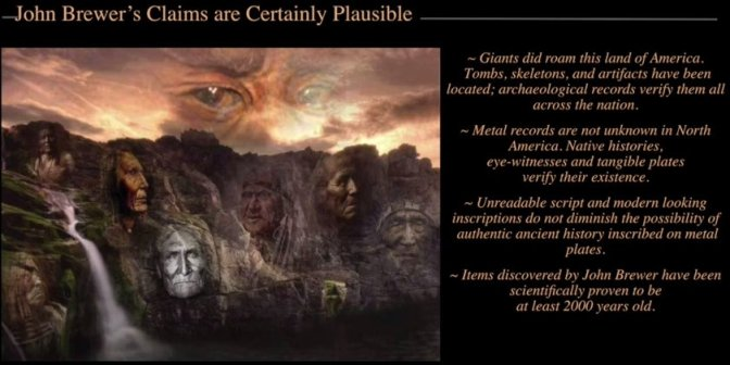 """Giant Mummies Found in Brewers Cave. The Untold Story! Another """"Academic"""" Cover Up! VDO"""