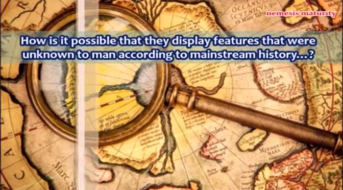 Six Ancient Maps that should not Exist