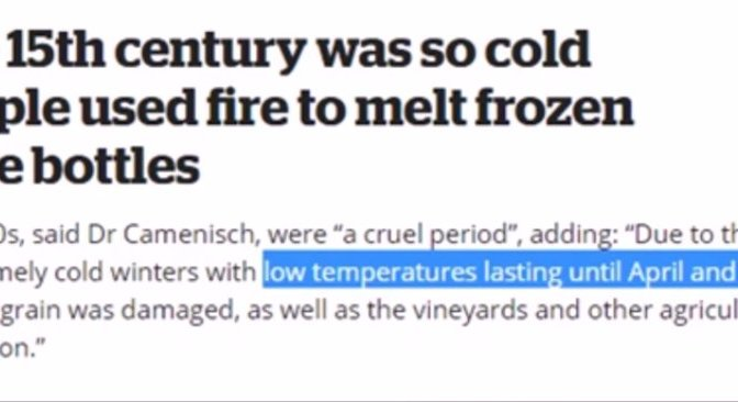 Ottoman Empire & Ming Dynasty Fell During a Mini Ice Age Like Happens Today!