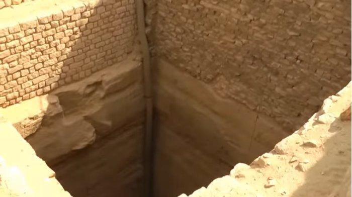 Zoser's Saqqara Step Pyramid Grain Bins of Imhotep Joseph True Historians Proving Genesis